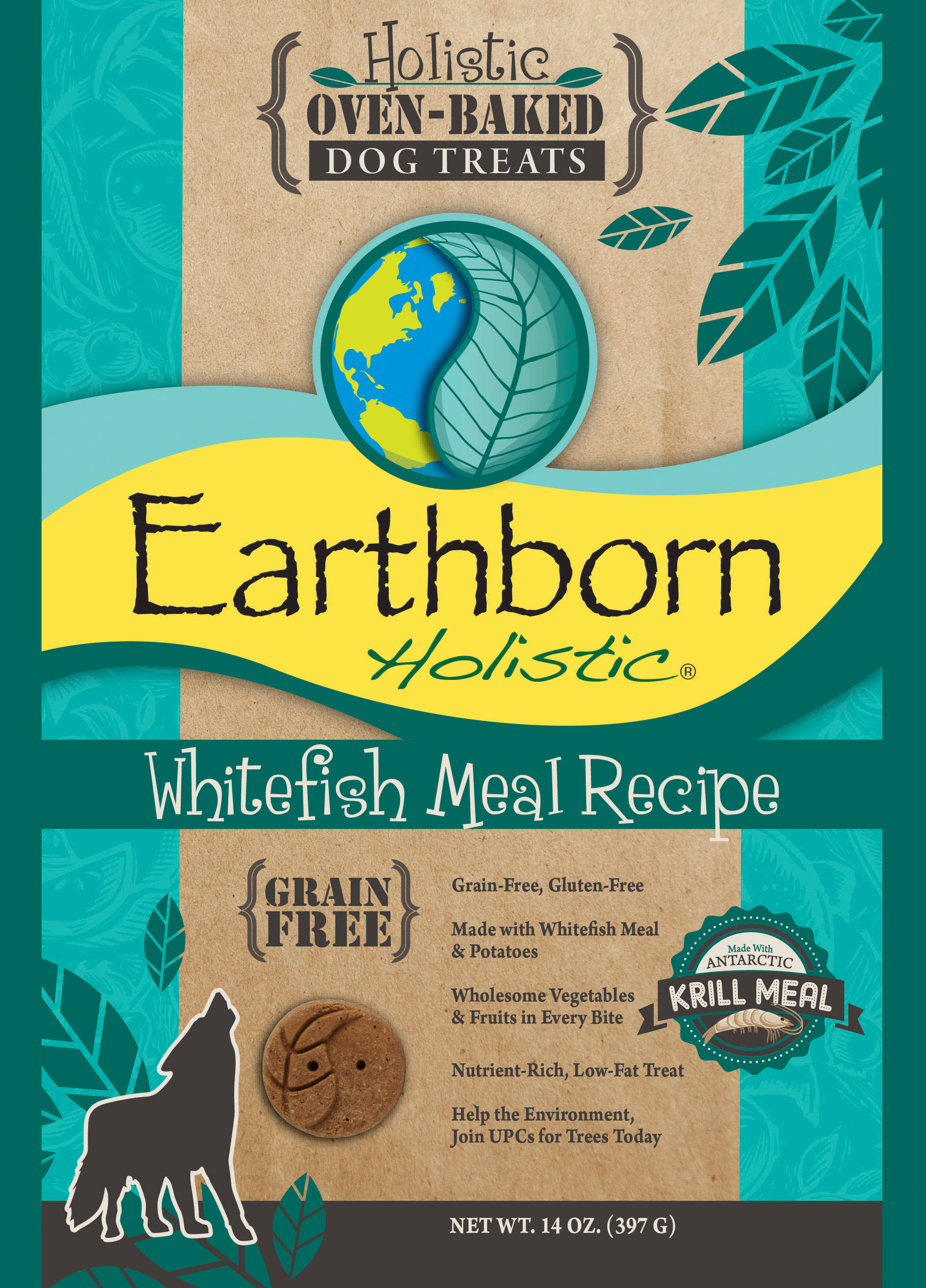 Earthborn Holistic Pet Biscuits - Whitefish Meal