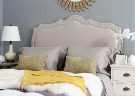Wayfair Metal Headboards King bedroom beige leather headboard also wayfair headboards and king