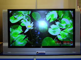 large screen television technology