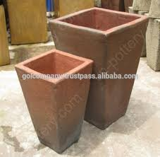 Wholesale Square Rustic Copper Pots