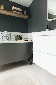 Dark Colors For Bathroom Walls by Choosing A Light Or Dark Bathroom Colour Scheme For A Small Space