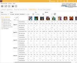 Hearthstone Deck Builder Program by Hearthstonetracker Com Screenshots Statistics Tracking For