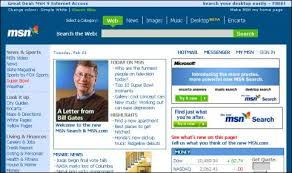 Bill Gates Introducing MSN Search