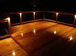 Patio Floor Lighting Ideas by Outdoor Patio Lighting Ideas Enhance Your New Deck With Recessed