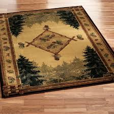 Lodge Style Area Rugs