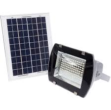 led outdoor solar powered wall mount flood light walmart