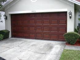 Garage Door Paint Painting Our Garage Doors A Richer Deeper Color