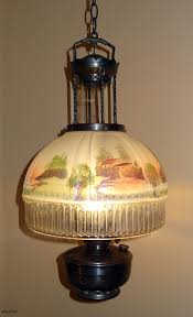 Aladdin Kerosene Lamp Model 12 by Aladdin Lamps Stained Glass By David