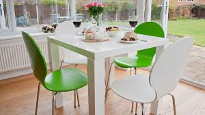 Cheap Dining Room Sets Uk by White Gloss Kitchen Dining Set Colourful Dining Chairs Uk