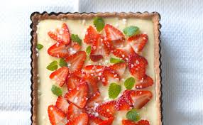 erdbeer vanille tarte