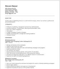 Sample Resume For Territory Manager Packed With Sales Marketing Examples Frame Astonishing 377