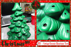 Colored Bulbs For Ceramic Christmas Tree by Diy U2013 Vintage Ceramic Christmas Tree