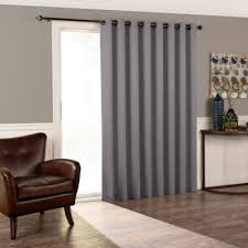 Grommet Top Curtains Jcpenney by Eclipse Tricia Patio Door Room Darkening Grommet Top Door Panel