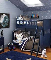 Boys Space Bedroom Star Wars Outer For Twins Bunk Bed And