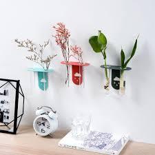hydrokultur pflanzen nordic glas blume vase wand hängen glas reagenzglas vasen für schlafzimmer wohnzimmer home garten dekoration