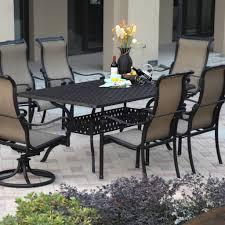 Cast Aluminum Outdoor Sets by Outdoor U0026 Garden Monterey Cast Aluminum Patio Dining Set For 7