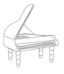 Fresh Musical Instrument Coloring Pages 20 For Your Kids Online With