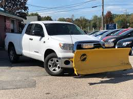 100 For Sale Truck Used 2010 Toyota Tundra W Plow Double Cab