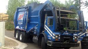 Allied Waste Garbage Truck - YouTube