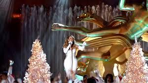 Nbc Christmas Tree Lighting 2014 by Mariah Carey Joy To The World Nbc Christmas In Rockefeller