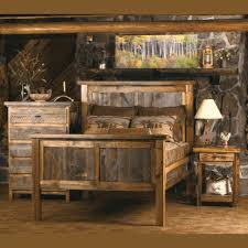 Cool Barn Wood Bedroom Furniture and Reclaimed Wood Bedroom Set