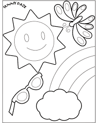 Summer Coloring Pages 2017 Dr Odd