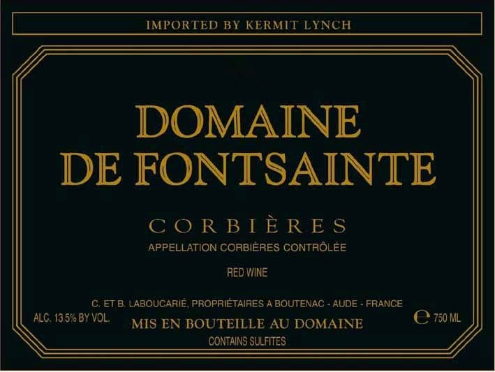 Domaine de Fontsainte Corbieres, France (Vintage Varies) - 750 ml bottle