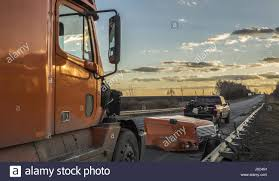 100 American Truck Equipment Truck Damaged During The Accident 28th Mar 2017 Credit