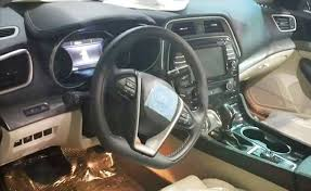 2016 Nissan Maxima Interior Leaked  AutoGuide News