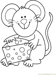 Cheese Coloring Pages Mouse Eat Cheese Coloring Page Free Pages and A Cheese Coloring For