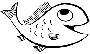 Simple Fish Coloring Pages For Kids