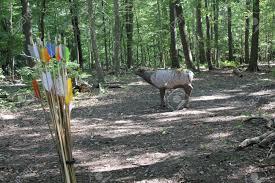 100 Meadowcroft Rockshelter Exhibits Atlatl Stick Arrow Throwing Stock