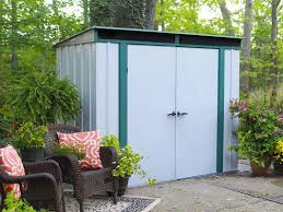 Suncast Tremont Shed 8 X 13 by Arrow Eurolite 8 Ft 4 In W X 4 Ft 3 In D Metal Tool Shed