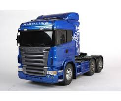 1:14 RC Scania R620 6x4 High.blue Paint. - RC Traktor Trucks 1:14 ...
