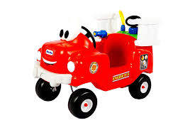 Amazon.com: Little Tikes Spray And Rescue Fire Truck: Toys & Games