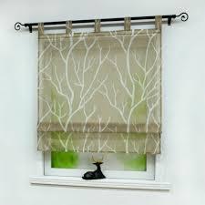 gardinen vorhänge raffrollo mit schlaufen raffgardinen