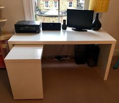 Ikea Malm Desk With Hutch by Ikea Malm Desk In Clapham London Gumtree