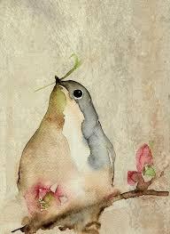 Indigo Soultumblr Simple WatercolorWatercolor ArtWatercolour