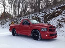 100 Trucks In Snow My SRT10 In The Snow