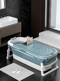 tragbare badewanne nicht slip klapp bad eimer faltbare große erwachsene badewanne schwimmen pool familie badezimmer spa sauna winter