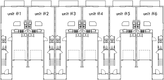 Photos And Inspiration Multi Unit Home Plans by Small Row House Floor Plans Adhome