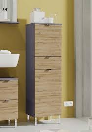 monson badezimmer schrank graphit grandson eiche günstig möbel küchen büromöbel kaufen froschkönig24