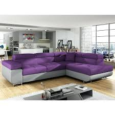 canape violet pas cher canape canape d angle convertible en tissu canapac dangle cree