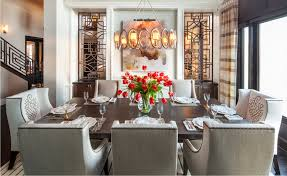 Hamptons Inspired Luxury Dining Room 1