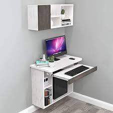 wandmontage computerschreibtisch schlafzimmer wohnzimmer