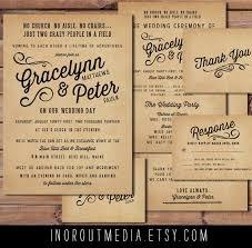 Informal Wedding Invitation Wordingcute Wording Rustic Enchanting Casual