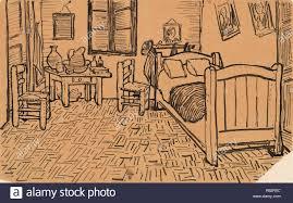 Chambre Van Gogh File Wlanl Techdiva 1 De Slaapkamer Detail