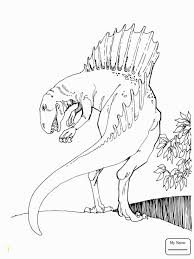 Gallery Of Coloriages T Rex Effrayant Coloriage Tyrannosaure