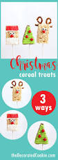 Rice Krispie Christmas Tree Pops by Christmas Rice Krispie Treats Shortcut Christmas Treat Idea