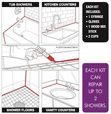 Unsanded Tile Grout Caulk by Ceramic Tile Pro Super Grout Additive Repair Kit Thegroutstore